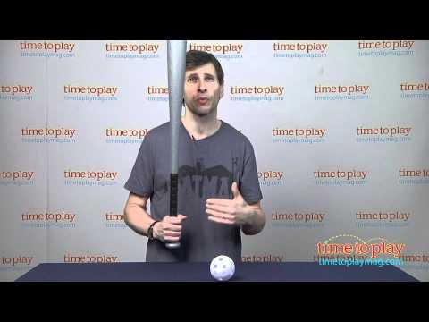 MLB Powerhouse Plastic Bat & Ball from Franklin Sports