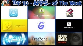 #196 APPS - Best Apps of The Week - Top 10 - Forever Holo Code