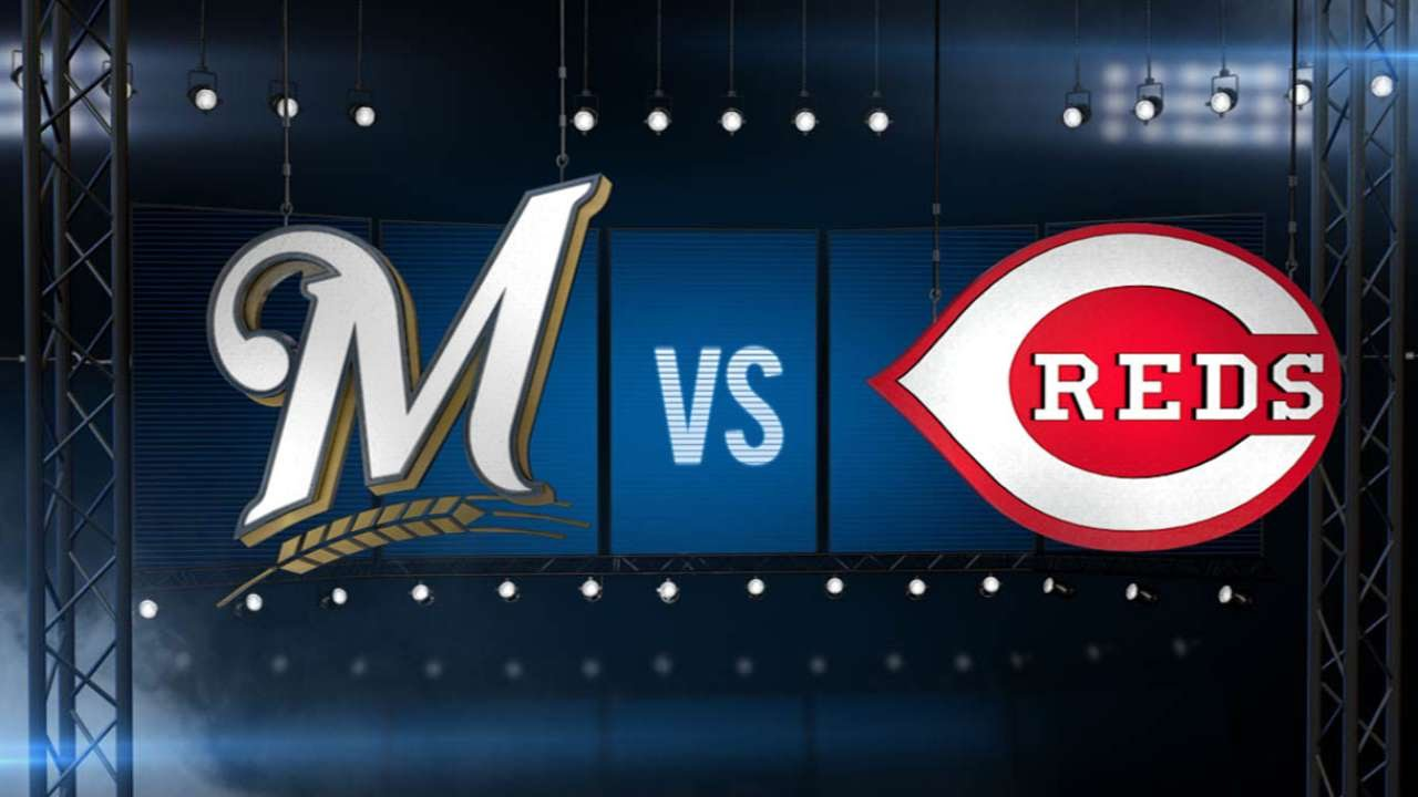 7/4/15: Crew uses six-run 5th to pull away from Reds