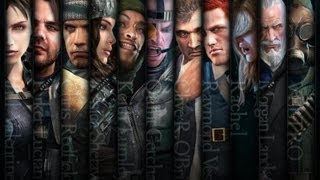 Resident Evil Revelations All Raid Mode Characters