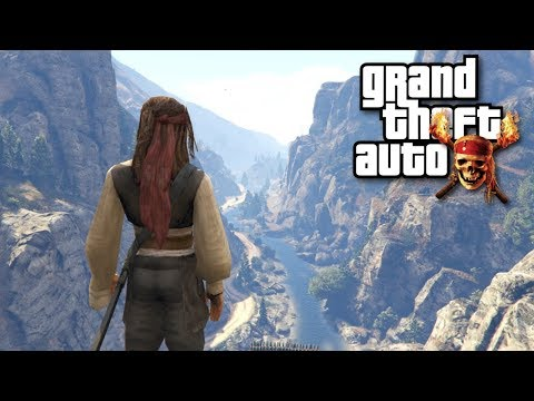 PARKOUR PIRATA EN GTA V (Jack Sparrow)