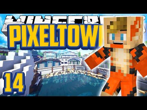 Minecraft Mods Pixelmon 'Pixeltown' Adventure