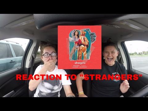 """REACTION TO """"STRANGERS"""" BY HALSEY FT. LAUREN JAUREGUI!!!!"""
