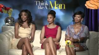 Gabrielle Union, Meagan Good, and Regina Hall Interviews | Think Like a Man interview with