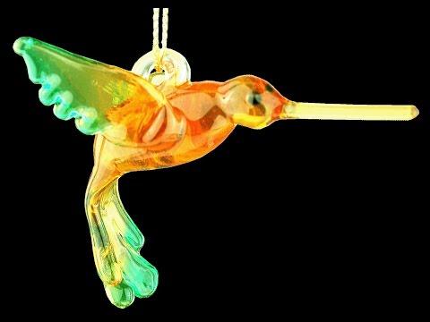 Sculpting a Soft Glass Hummingbird