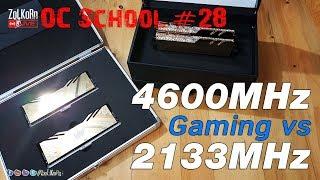 OC School EP#28 - DDR4-4600C19 ปะทะ DDR4-2133CL15 เล่นเกม ต่างกันมั๊ย ?
