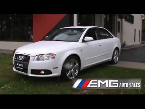 2007 Audi A4 2 0t S Line Quattro Youtube