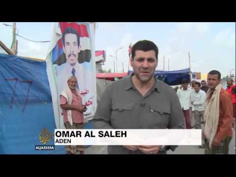 Rally marks Yemen civil war anniversary