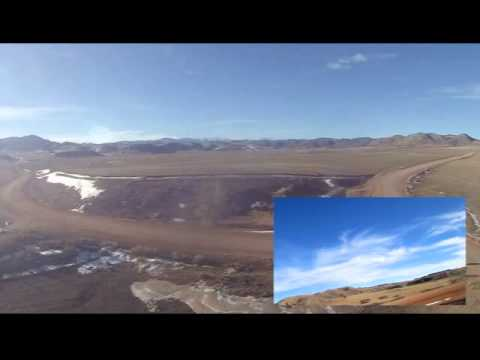 DJI Phantom GoPro Cherokee Park Road Colorado No Gimbal