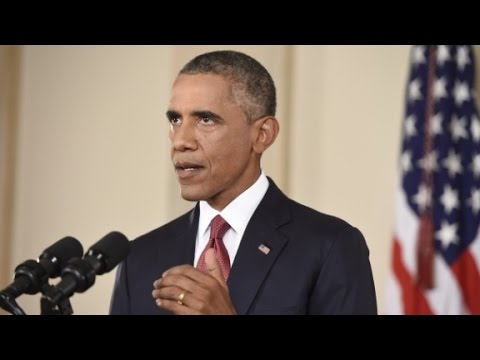 Obama vows no U.S. ground troops vs. ISIS