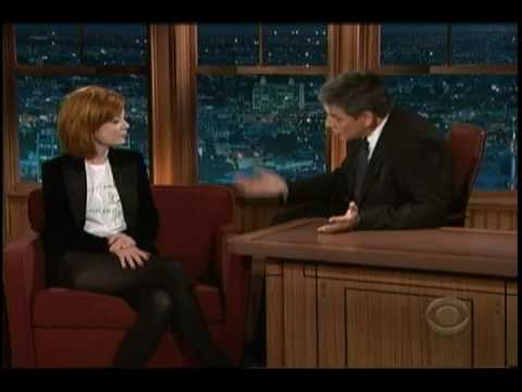 Shirley Manson on Craig Ferguson on 4/28/09