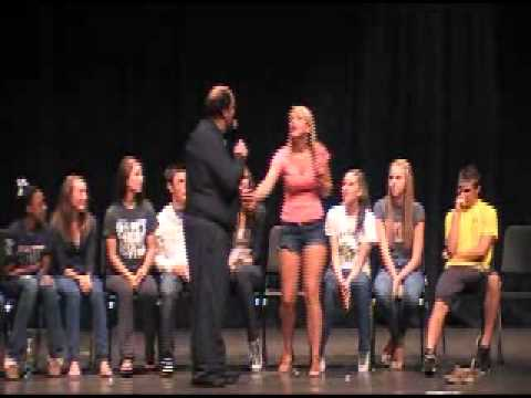Lake Orion High School Hypnosis Ever Meet Your Favorite Star. Very Funny! video