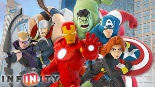 THE AVENGERS IRON MAN - Cartoon Videos Games for Kids - Disney Infinity 2.0 Marvel Super Heroes