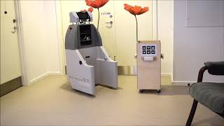 The SMOOTH robot at the Ølby elderly care center in Køge