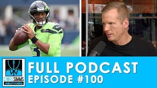 Ron Rivera fired, Seahawks burn Rhodes & QB Word Association | Chris Simms Unbuttoned (Ep. 100 FULL)