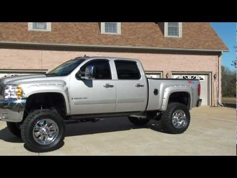 SOLD !! 2008 CHEVY SILVERADO 2500 DURAMAX LIFTED FOR SALE SEE WWW SUNSETMILAN COM