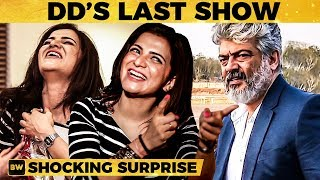 My Last Show with Thala Ajith – DD Reveals the Surprise! | MY 449