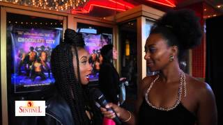 Imani Hakim at Chocolate City Premiere