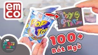 Mở 18 pack Pop Toy trúng đồ chơi đẹp, lạ, xịn ToyStation 254