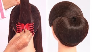 very easy hairstyle with using clutcher | try on hairstyle | simple hairstyles | clutcher hairstyle