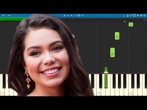 Auli'i Cravalho - Live Your Story - Piano Tutorial - Disney Dream Big, Princess
