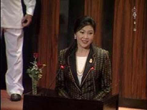 Thai Pm Yingluck Shinawatra Addresses Sri Lanka Parliament video