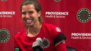 Tobin Heath talks about the Portland Thorns
