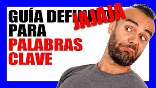 GUÍA DEFINIJAJA PARA BUSCAR PALABRAS CLAVE - #RomuTV Ep. 31