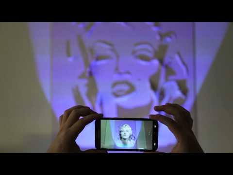 Augmented Reality Marilyn Monroe Audrey Hepburn Sophia Loren