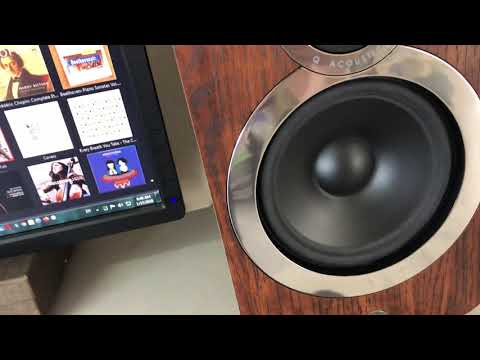 Q Acoustics 3020i Break-In Process (SOS - Avicii/Aloe Blacc)