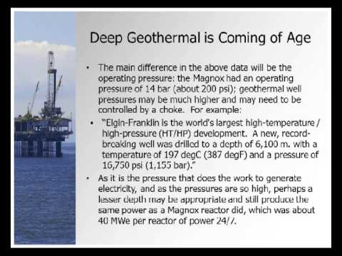 PowerPoint - Offshore Decommissioning Alternative - Geothermal Power