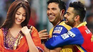 Yuvraj Singh CALLS Virat Kohli's girlfriend Anushka Sharma 'Bhabhi'