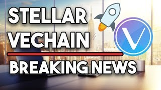 Stellar (XLM) Bounce Is Expected & Vechain (VET) Will Be Great!