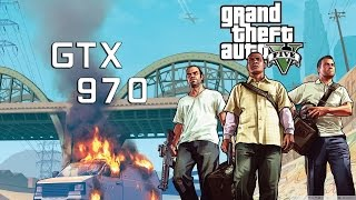 Grand Theft Auto V Test | Asus Strix GTX 970 DirectCU II 4GB GDDR5 | 1080p Ultra  |