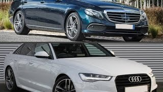 2017 Mercedes-Benz E 220d SE vs 2016 Audi A6 2.0 TDI Ultra Black Edition