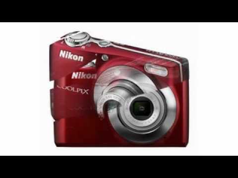 Nikon Coolpix L24 140-Megapixel Digital Camera - Red