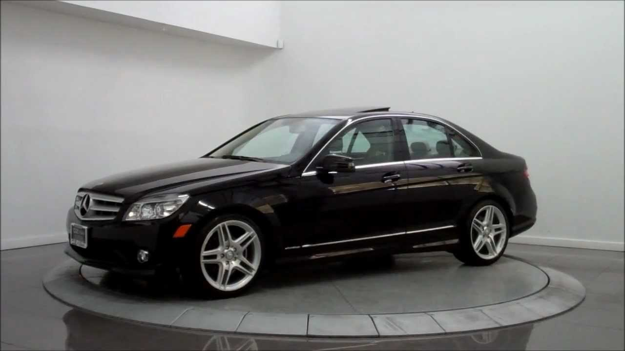 2010 mercedes benz c300 4matic amg sport youtube for Mercedes benz 300 amg