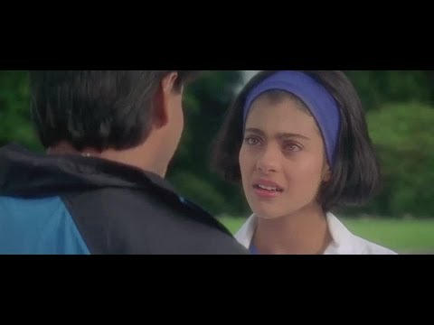 Kuch Kuch Hota Hai - I Love You Scene Complete with Angeli Leaving Train Station Forever - HD