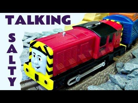 Talking Salty Thomas The Train Trackmaster Train Kids Toy Train Set Thomas The Tank Engine