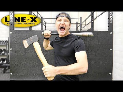 100 LAYERS OF LINE-X (DANGER ALERT) UNBREAKABLE WALL thumbnail