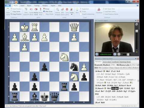 0 - Chess Video   Vladimir Kramnik - Luke McShane London Chess Classic Round 5 Play of the Day - Chess & Mind Games