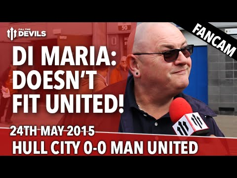 Di Maria: Doesn't Fit United | Hull City 0 - 0 Manchester United | Fancam