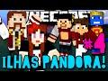 ILHAS PANDORA - O ATAQUE DAS ÁRVORES DESTRUIDORAS DE CASAS :( - #4 - Minecraft