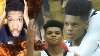 "BEST 16 YEAR OLD IN THE NATION? RONALDO ""HESO PULL"" SEGU HOME TEAM HOOPS MIXTAPE REACTION!"