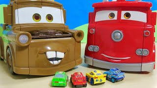 Disney Cars Transform with a magic hammer For Kids