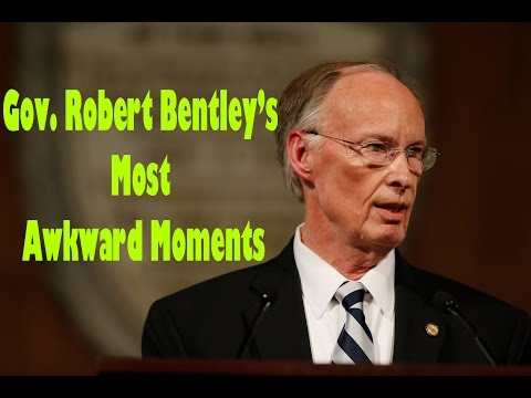 Watch Governor Robert Bentley's most awkward moments from his press conference denying allegations o