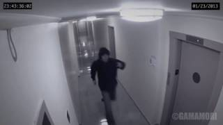 Ghost caught on surveillance camera