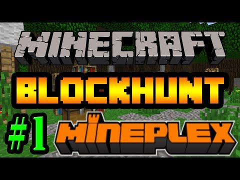 Tackle⁴⁸²⁶ Minecraft - Mini Games: Blockhunt (ซ่อนแอบ Minecraft) #1