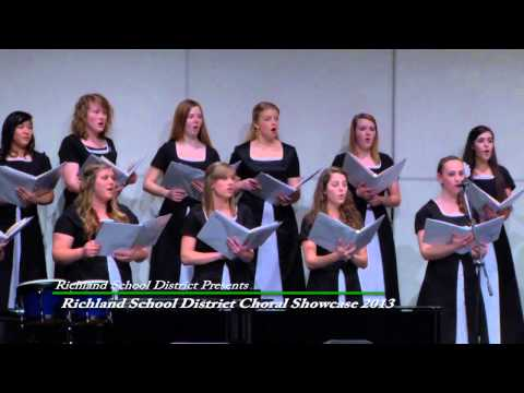 RSD 2013 Choral Showcase - Richland High School - Mule Rendera