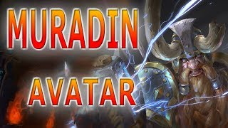 Muradin HEROES OF THE STORM GAMEPLAY ESPAÑOL condado del dragon OLI
